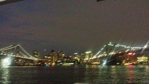Brooklyn Bridge and Manhattan Bridge