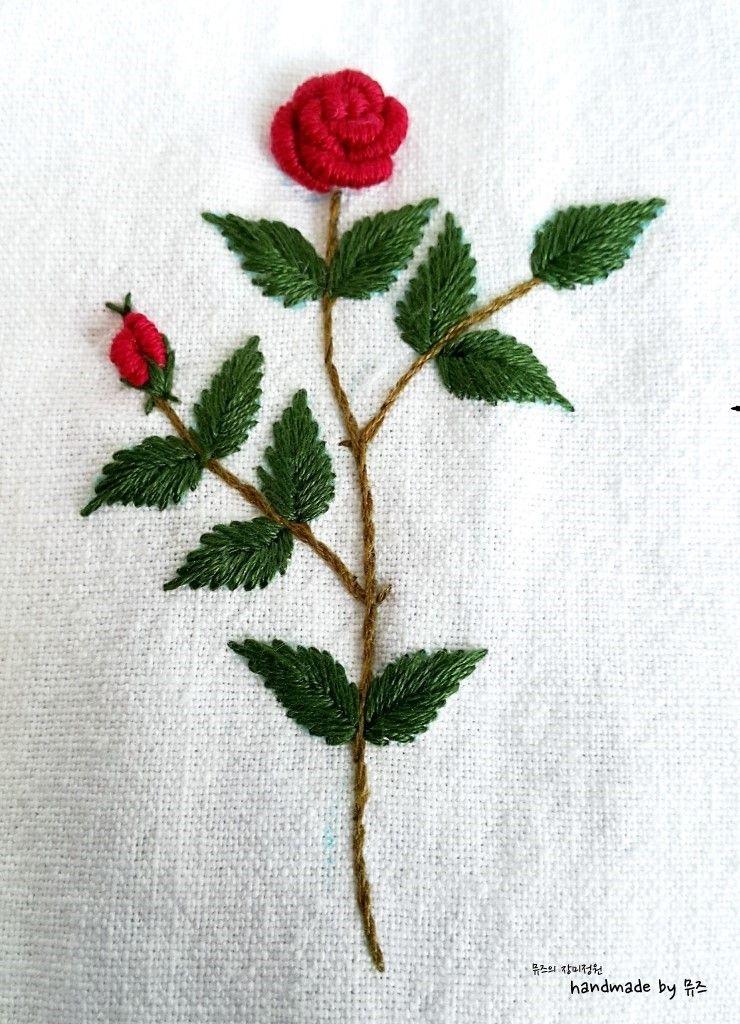 4 Cintas Y Bordados Pinterest Embroidery Hand