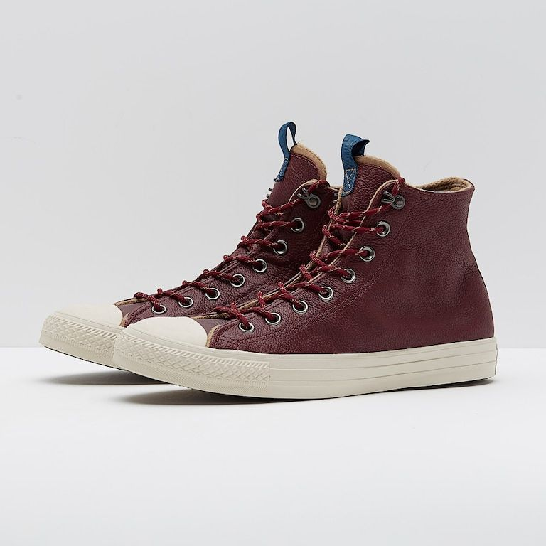 355c707c3464f8 Mens Shoes - Converse Chuck Taylor All Star - Hi - Dark Burgundy - Dark  Burgundy Teak Driftwood