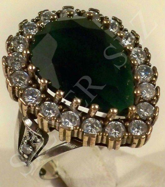 Harem Hurram Sultan Silver Ring Hurrem Sultan Turkish Ottoman