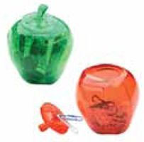 Apple Bank and Clip Holder (Imprintable with Name or Logo)