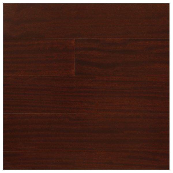 "Easoon Usa 5 Engineered Manchurian Walnut Hardwood: African Heritage Mahogany 5/16"" Thick X 5"" Wide X Varying"