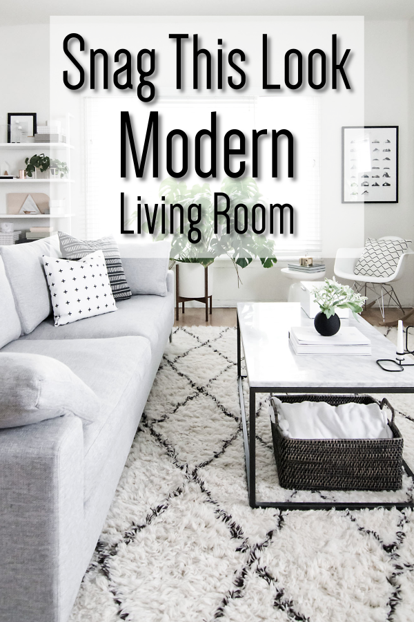 Snag This Look Modern Living Room Small Apartment Living Room