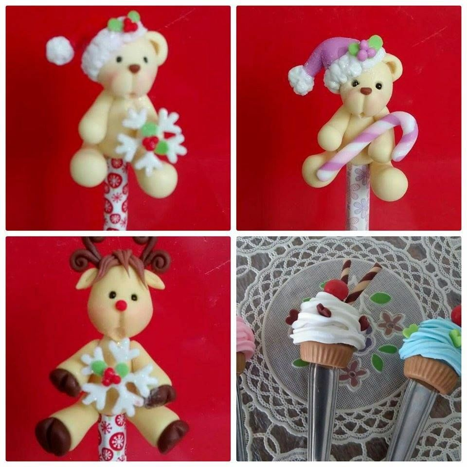Pin de lourdes morales en navidad en pasta flexible for Manualidades con plumas