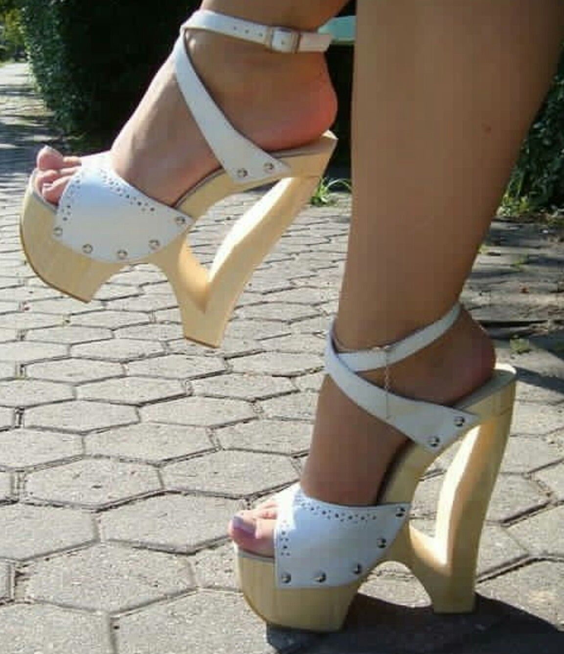 Pin By Heel And Wedges Wooden On Pretty Feet In Sexy Shoes