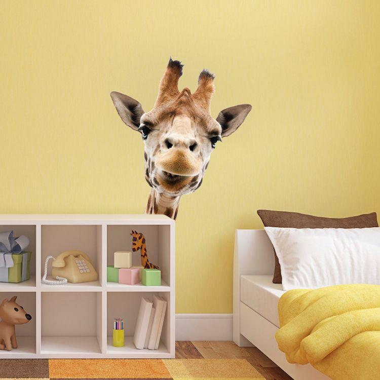Merveilleux Giraffe Wall Mural Decal   Animal Wall Decal Murals   Primedecals