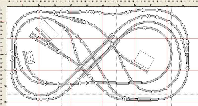 n scale track plans free n gauge track plans download projects  multi level railroad model layout diagram #11