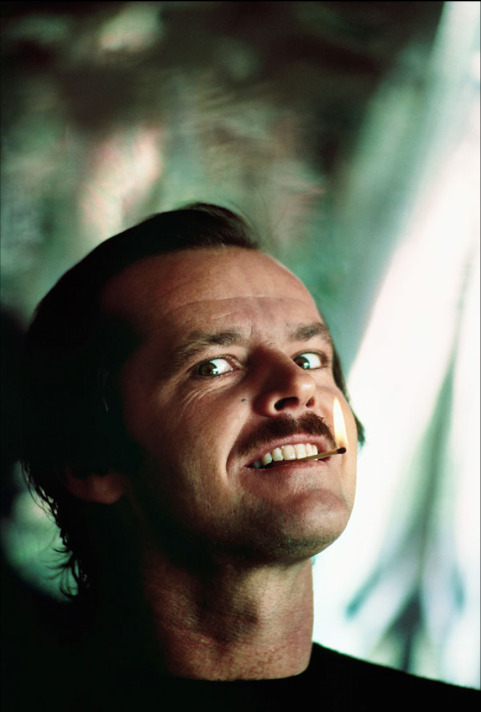 Jack Nicholson by Douglas Kirkland.