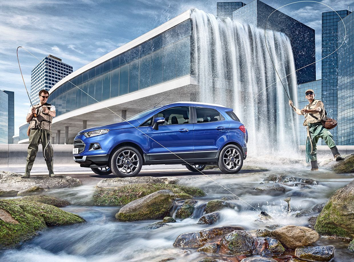 Ford Ecosport On Behance Ford Ecosport Ford Car Ads