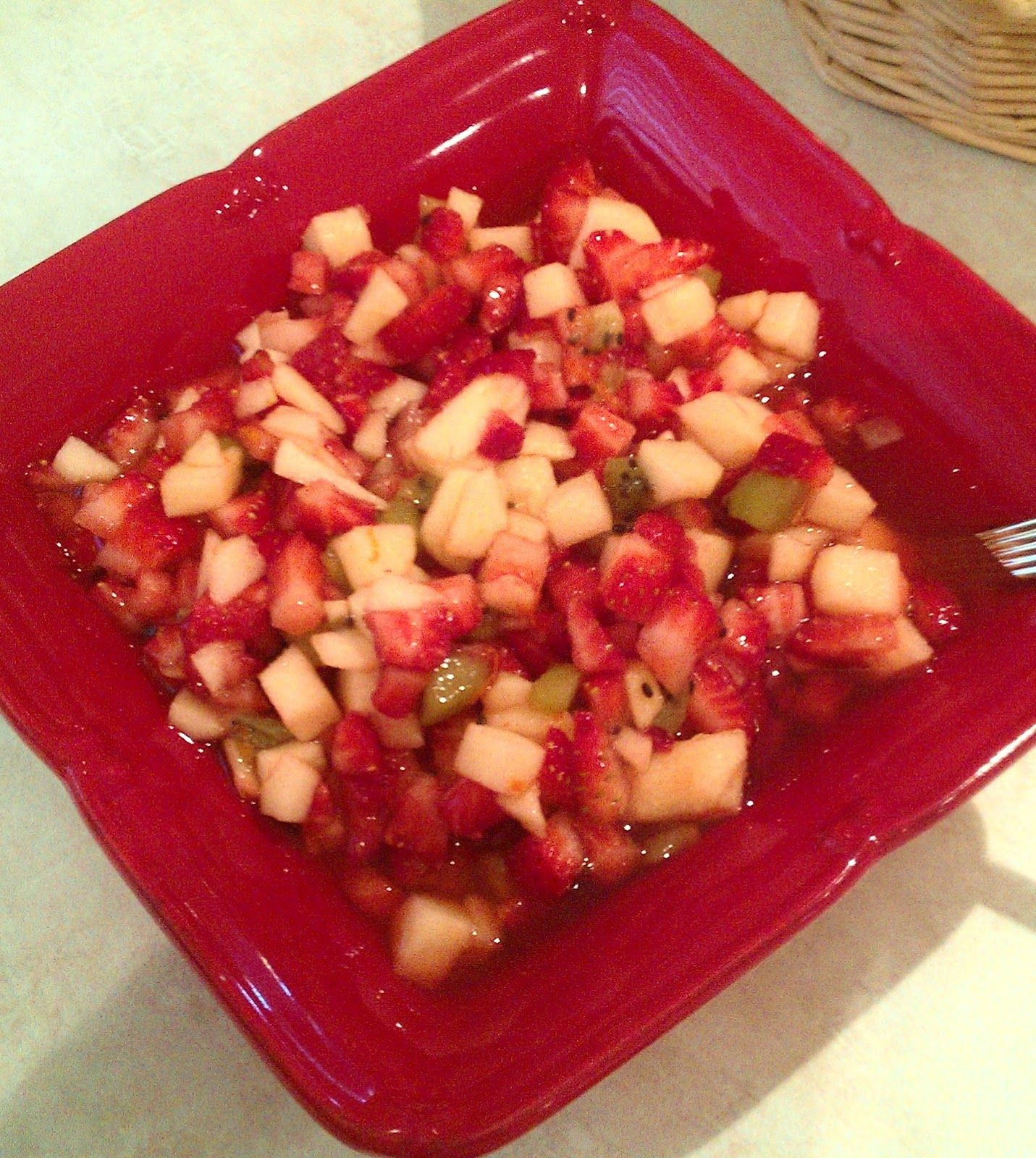 Our Family Table: Apple Berry Salsa