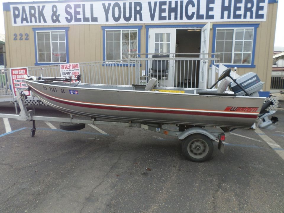 1987 Western Aluminum Fishing Boat Aluminum Fishing Boats