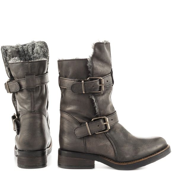 6d585a5d6cb Steve Madden Booties Boots CAVEAT-F Grey Multi 5.5 4.5 rating on ...