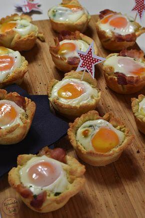 Herzhafte Eier-Muffins #baconfrittata