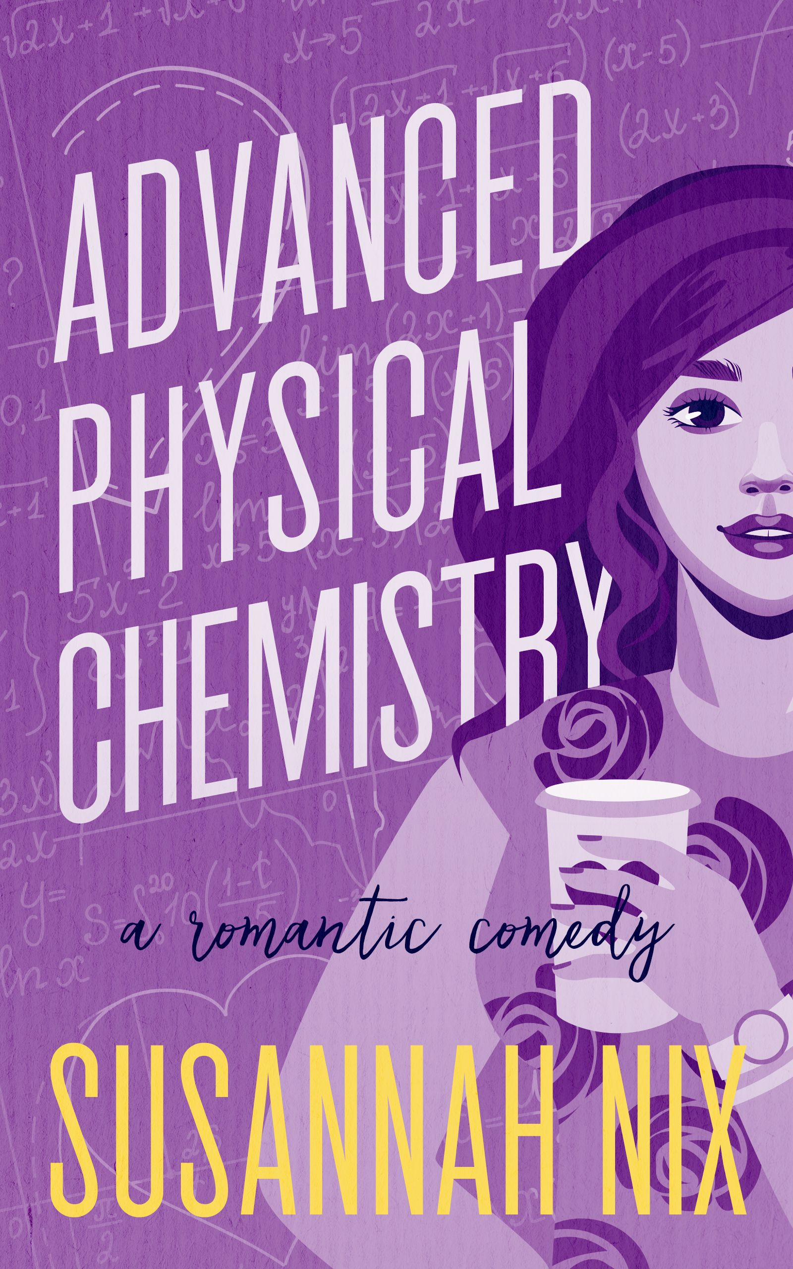 Book Cover Design For Advanced Physical Chemistry If You Would Like To Commission Us For Your Book Cover Physical Chemistry Chemistry Lessons Romantic Comedy