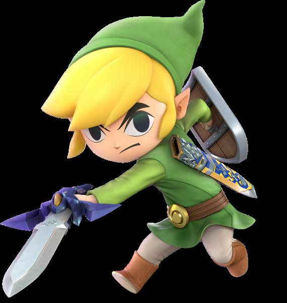 File Ssbu Toon Link Render Png Zelda Wiki Super Smash Bros Characters Favorite Cartoon Character Super Smash Bros