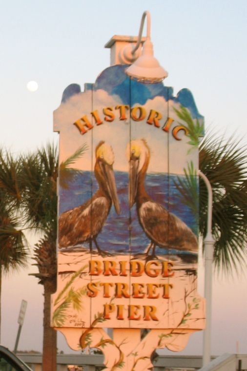 Historic Bradenton Beach Pier on Anna Maria Island  This is