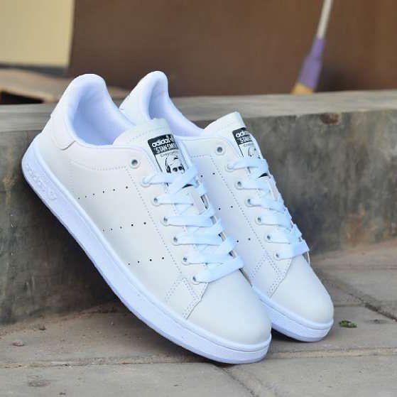 Adidas Tan Smith Full White Size 40 44 Harga 300 Pemesanan Hubungi
