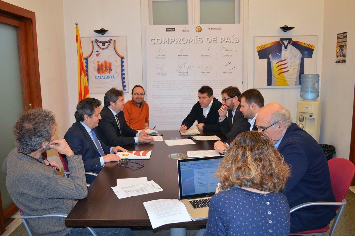 Món Esport | Nou pas cap al Pacte Nacional per a l'Activitat Física i l'Esport | CATALUNYA, 13/02/2017