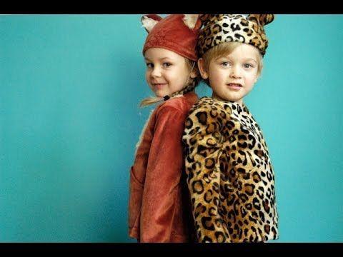Tierisch tolle Kostüme für Kinder nähen - Anleitung Intro