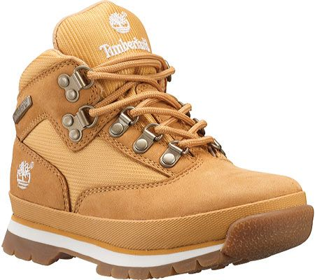 Timberland Boys' Euro Hiker Leather and Fabric TB096775231