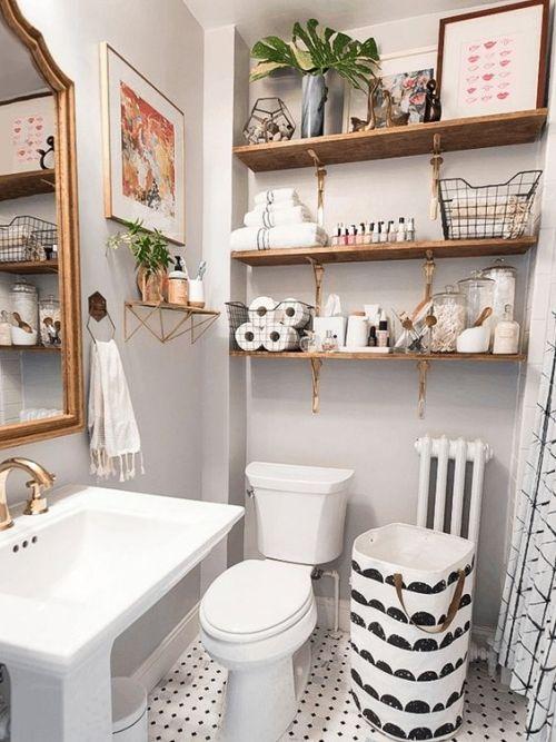 Kleines Badezimmer – clevere Tricks, die das Bad größer erscheinen lassen - Fresh Ideen für das Interieur, Dekoration und Landschaft