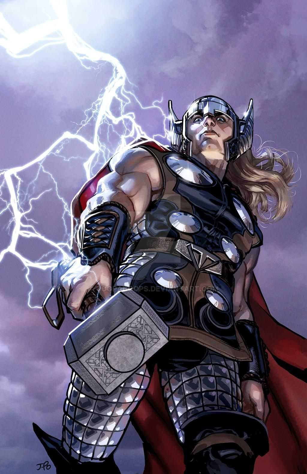 Thor Suggests That You Stay Down by JoopaDoops on DeviantArt