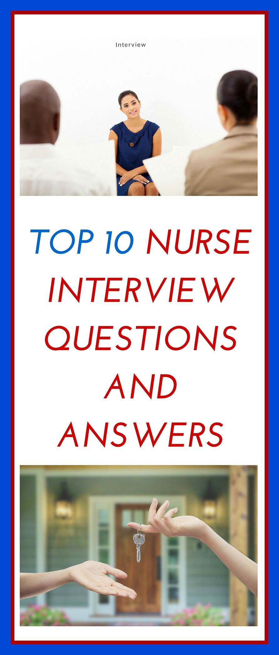 Top Nurse Interview Questions and Answers | Enfermería, Datos y Me ...