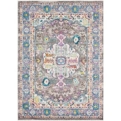 Artistic Weavers Lisbon Charcoal 9 Ft 3 In X 12 Ft 3 In Oriental Area Rug Grey Blue Area Rugs Area Rugs Rugs