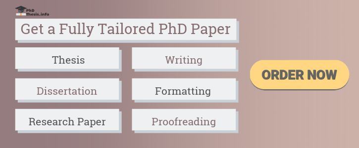 Phd dissertation writing services online