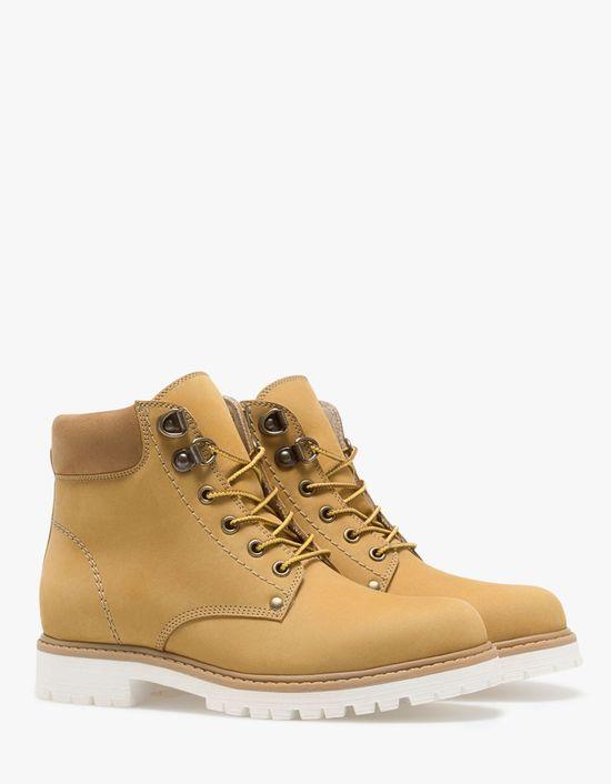 Khaki Neutrals Nowy Trend W Wydaniu Stradivariusa Foto Boots Ankle Boots Stradivarius