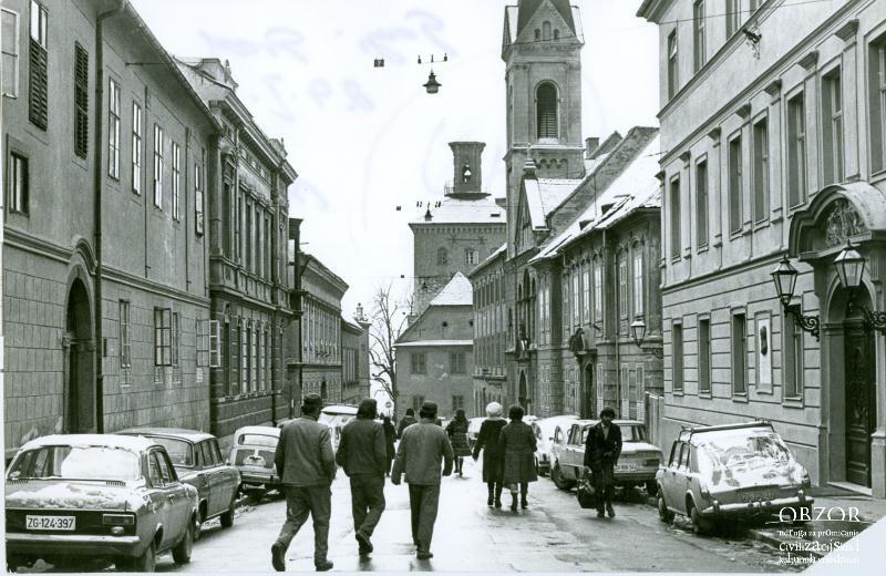Gornji Grad 1976 Lokacija Gornji Grad Zagreb Croatia Gornji Grad
