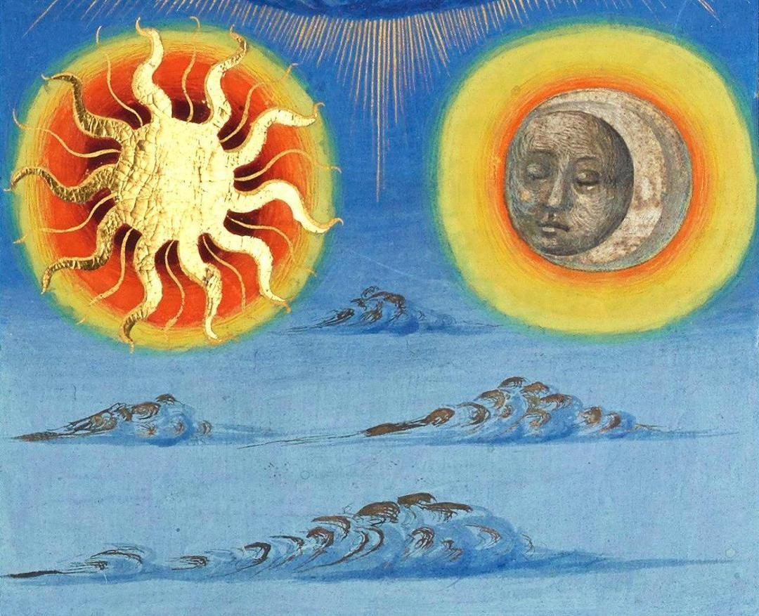 Легенда о луне и солнце картинки