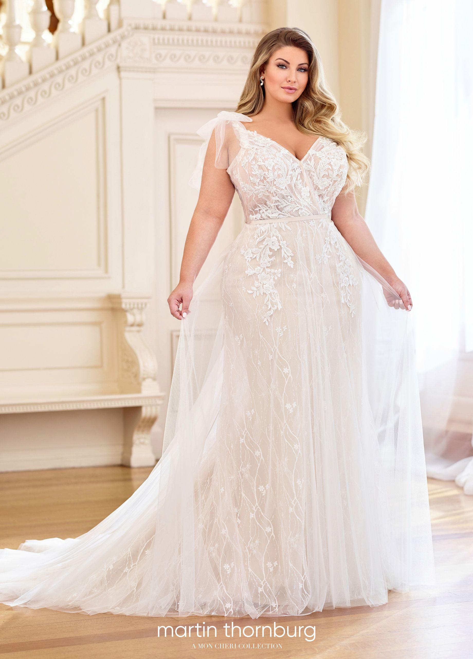 Martin Thornburg Moira Plus wedding dresses, Plus size