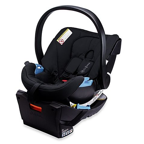 The CYBEX Aton Infant Car Seat offers deep side impact protection,