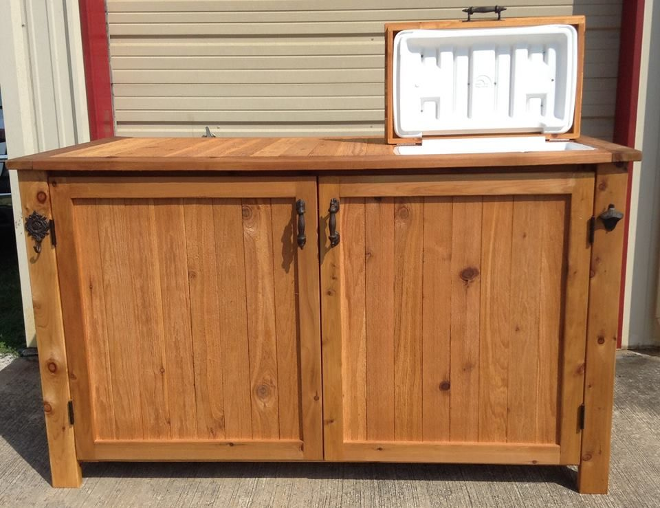 Boat Dock Storage cabinet with cooler Order from our Etsy site ...