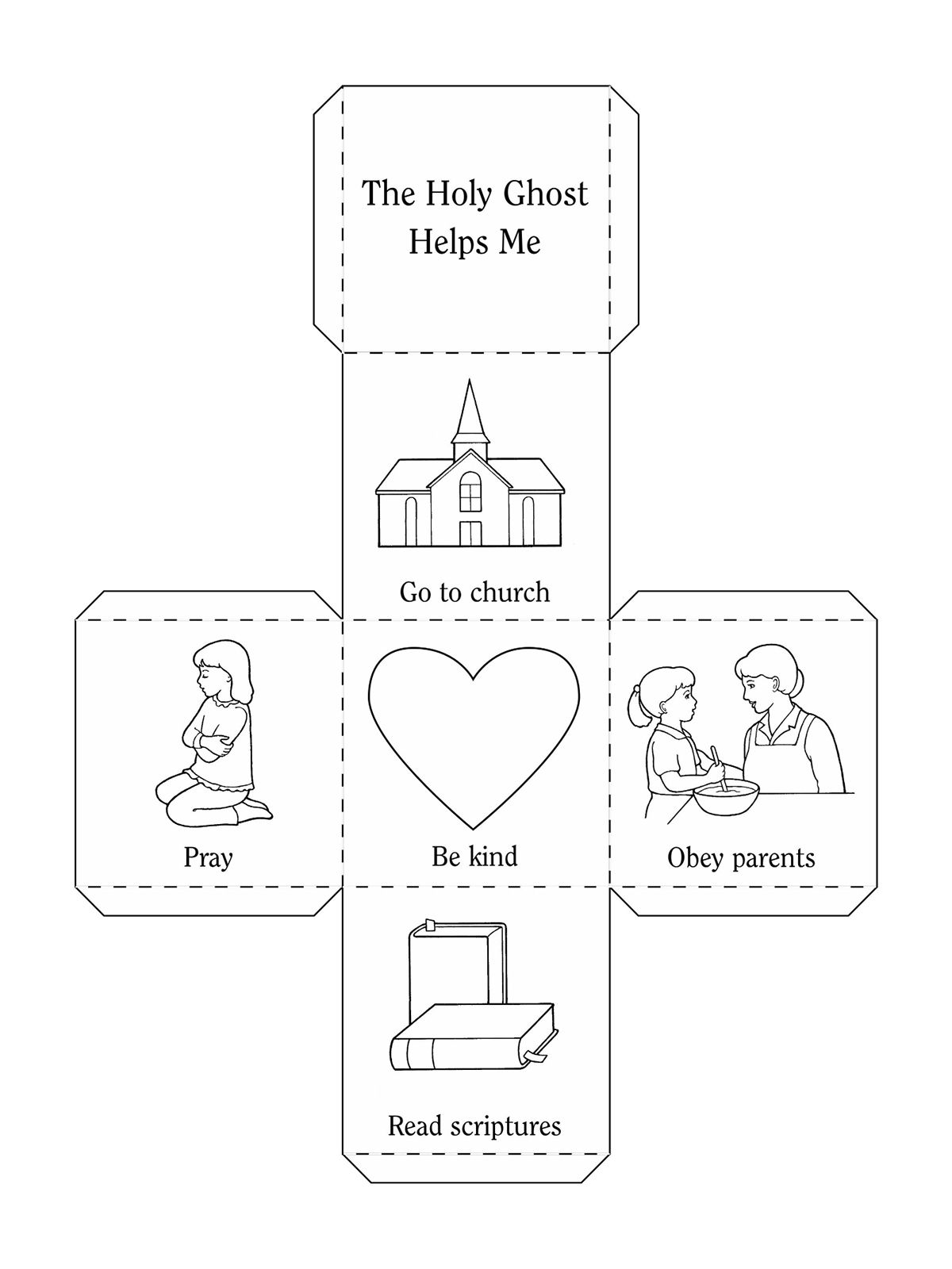 An illustration and activity from lesson 6, page 31 in the