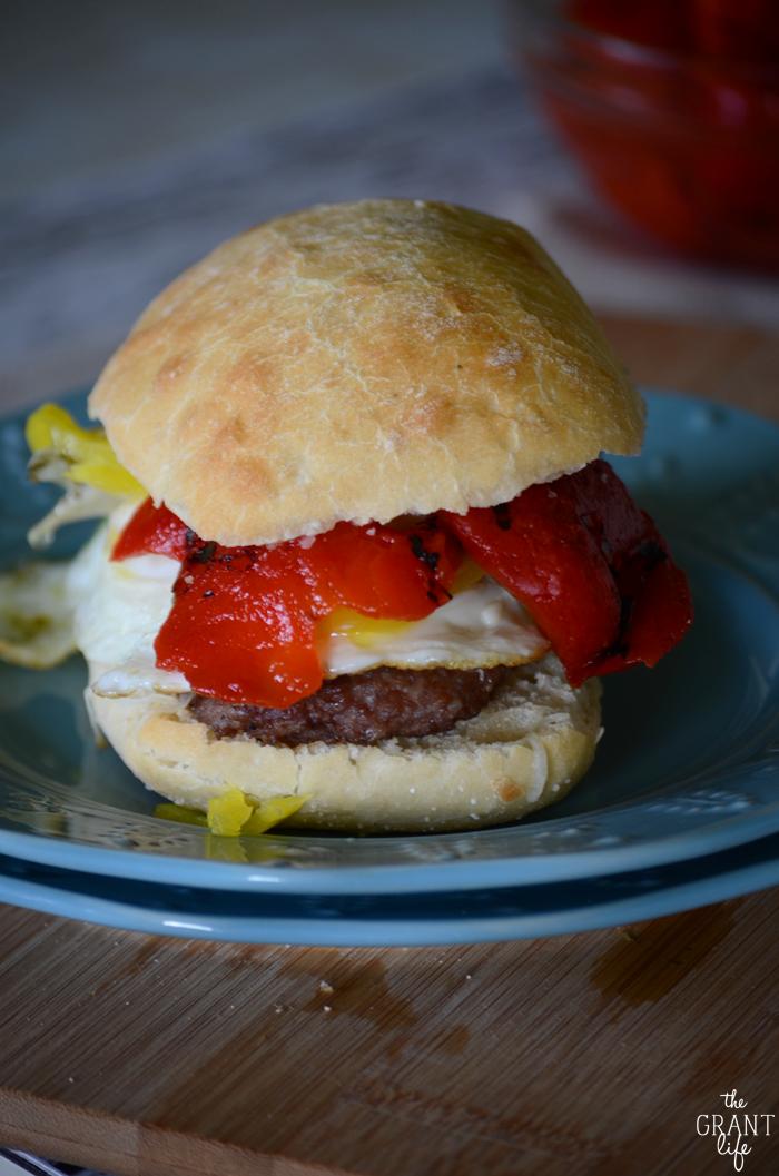 Italian Breakfast Sandwich Recipe