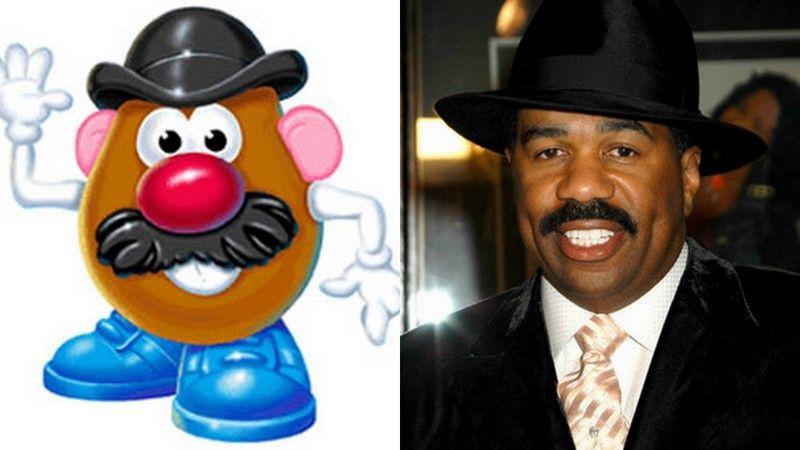 Steve Harvey Mr Potato Head Same Person Steve Harvey Harvey Steve