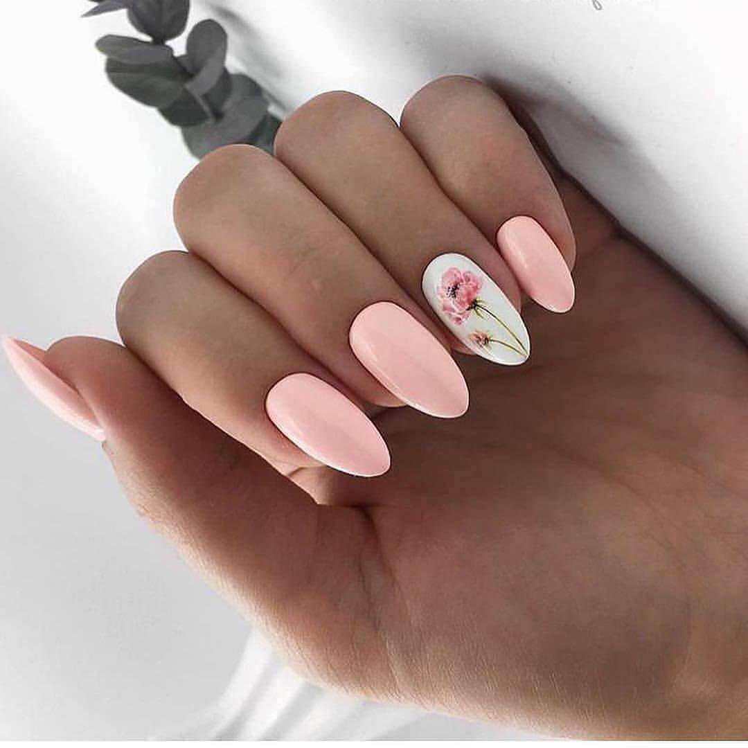 April 2020 Manicure The Real Spring Of Ideas With Images