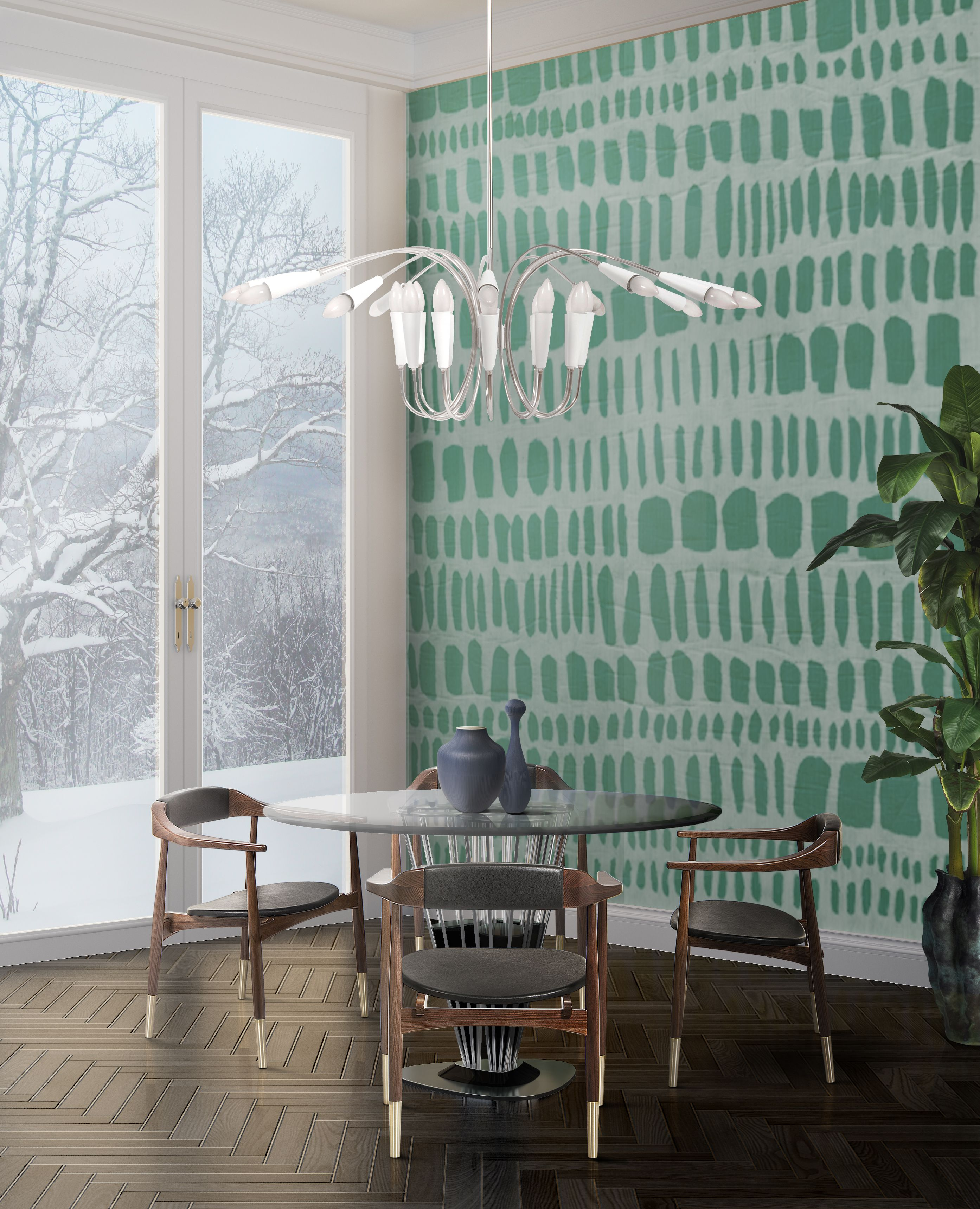 Mid Century Modern Dining Room Lighting: Get A Mid-Century Dining Room With 5 Easy Steps