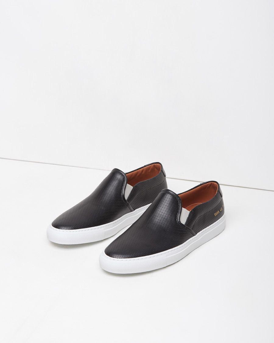 1df5703999382 Woman by Common Projects Perforated Slip-On Sneaker | La Garçonne ...