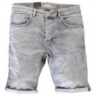 Korte Jeans Broek Heren.Cars Korte Broek Atlanta Grey Used Voor Heren 44 95 Korte Broek