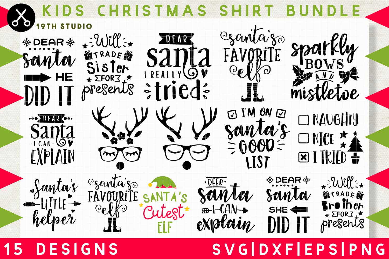 Kids Christmas Shirt Svg Bundle M37 19th Studio Christmas Shirts For Kids Christmas Shirts Kids Christmas