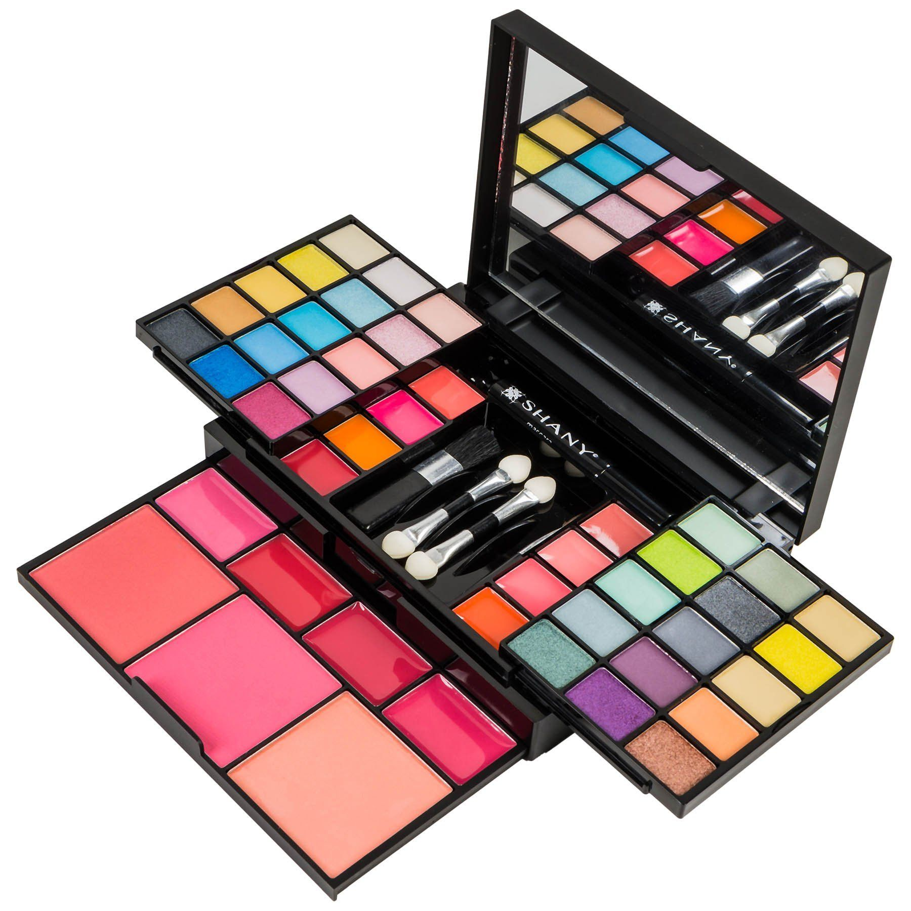 """Make-up-Kit """"Fix Me Up"""" – Lidschatten, Lippenfarben, Rouge und Applikatoren"""