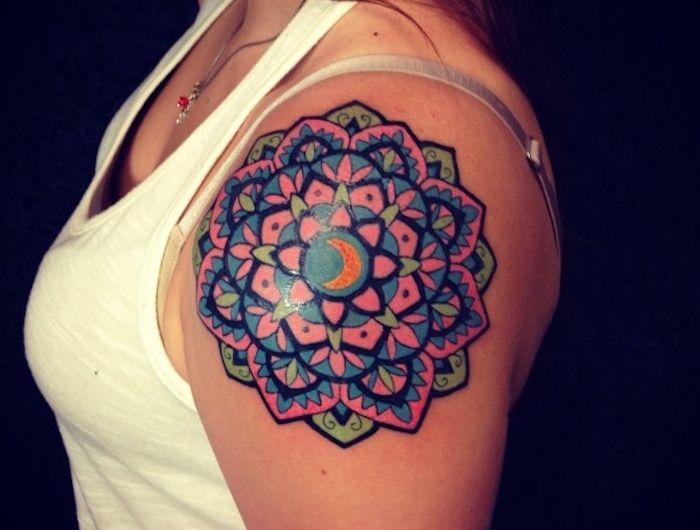 1001 Idees Tattoos Tatouage Tatouages Mandala Mandala