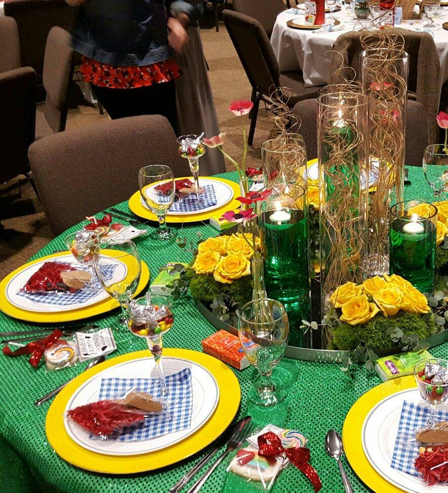 Wizard Of Oz Party Emerald City Dorothy Yellow Brick Road Tornado