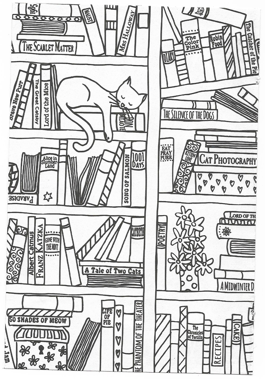 Book Case Quilt Book Quilt Coloring Book Pages Coloring Pages