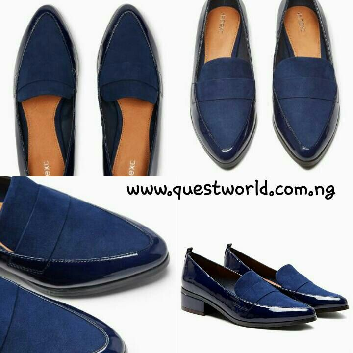 Next Navy Point Loafers size 8/42 #12500. Enter QW1000 and get #1000 off orders above #15000 www.questworld.com.ng pay on delivery in lagos. Nationwide delivery