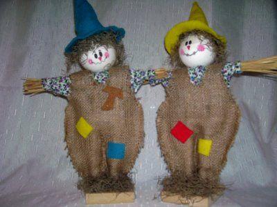 Espantapajaros Un Diy Como Hacer ScarecrowsMuñecos 4Rj3AL5q