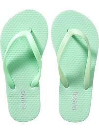 mint green items | Girls Flip-Flops